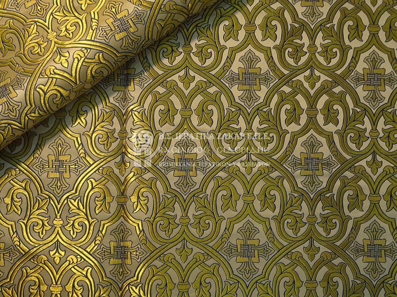 Ιερατικά Υφάσματα - Μεταλλικά 17560B ST | Κωδ.02015