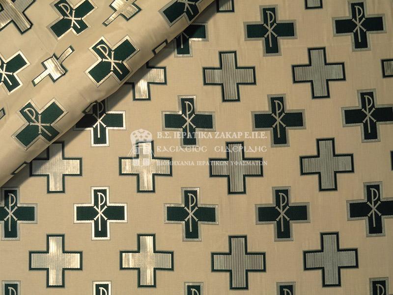 Ιερατικά Υφάσματα - Υφαντά - Μεταξωτά AGIO 5 SYNEXES | Κωδ.08734