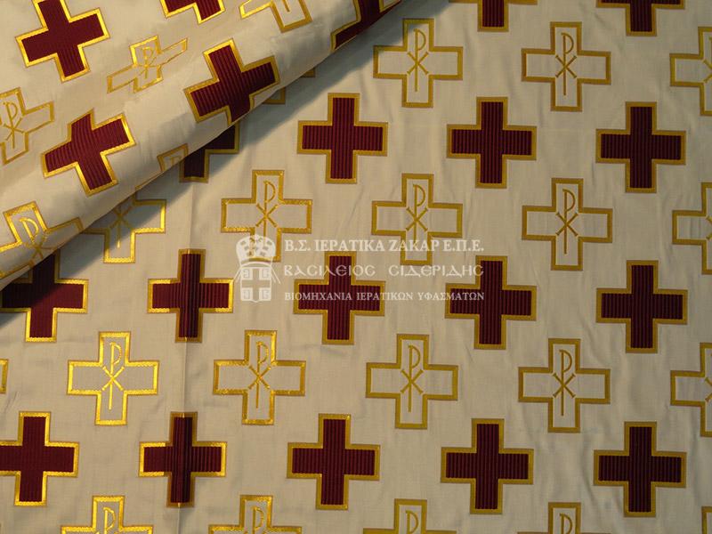 Ιερατικά Υφάσματα - Υφαντά - Μεταξωτά AGIO 5 SYNEXES | Κωδ.01656