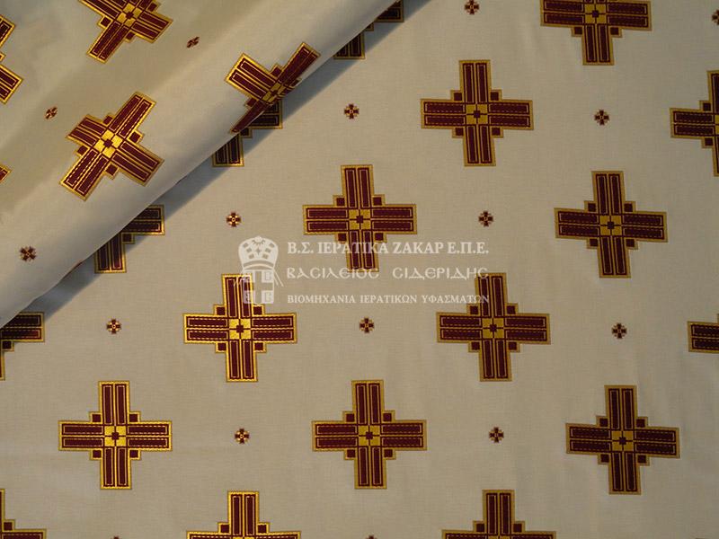 Ιερατικά Υφάσματα - Υφαντά - Μεταξωτά AGIO 7 SYNEXES | Κωδ.06515