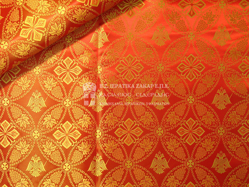 Ιερατικά Υφάσματα - Υφαντά - Μεταξωτά SID 011027-L | Κωδ.02108