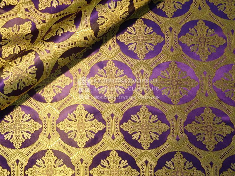 Ιερατικά Υφάσματα - Υφαντά - Μεταξωτά SID 020242A | Κωδ.00757