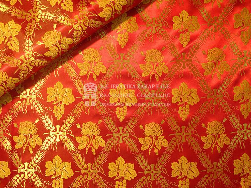 Ιερατικά Υφάσματα - Υφαντά - Μεταξωτά SID 14807 | Κωδ.02728